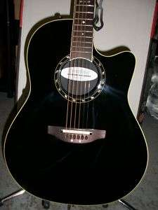 Shallow Balladeer 1861AX 5 Acoustic Electric Guitar + Case |