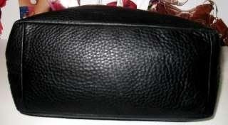 Pebbled Leather Large Duffle Shoulder Tote Bag Purse Handbag 11662