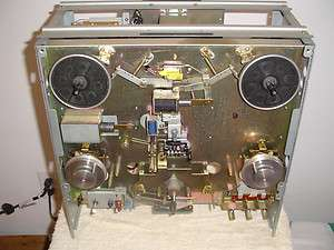 AKAI GX 635D REEL TO REEL TAPE DECK CHASSIS AND PARTS