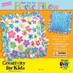 Crafty Girl Make Your Own Fleece Pillow Craft Kit