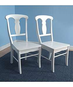 Solid Wood Empire Dining Chairs (Set of 2)  Overstock