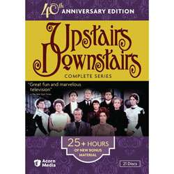 Upstairs, Downstairs The Complete Series   40th Anniversary