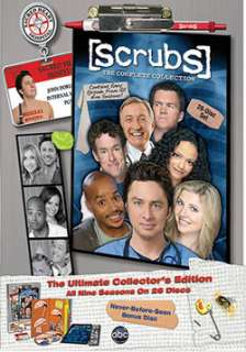 Scrubs The Complete Collection   Collectible Lenticular Cover (DVD