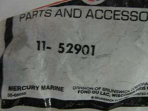 MERCURY OUTBOARD MOTOR PART # 11 52901 NUT