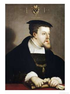 Charles V Holy Roman Emperor Giclee Print by Christoph Amberger at