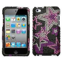 Super Star Apple iPod Touch 4 Rhinestone Case