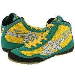 ASICS Kids Matflex GS (Toddler/Youth) Green/Silver/Yellow Athletic
