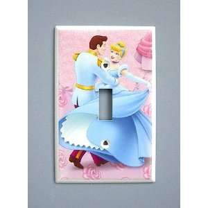 Princess Cinderella Prince Charming Switch Plate switchplate