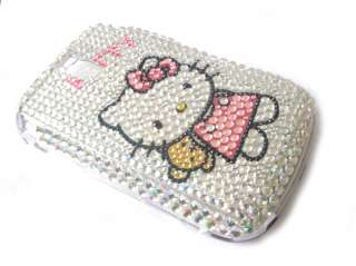 hello kitty Rhinestone Bling Case Blackberry Bold 9000