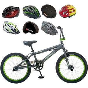 Limit 20 Boys BMX Bike & Helmet Value Bundle Bikes & Riding Toys
