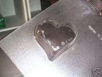 MEDIUMEP HEART BAR CHOCOLATE CANDY SOAP MOLD MOLDS