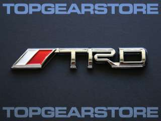 Toyota TRD Emblem Badge LEXUS ARISTO SOARER MR2 MRS JDM
