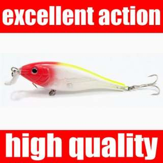 110mm 14gr FISHING Lures Coarse minnow bass pike trout crankbait jerk