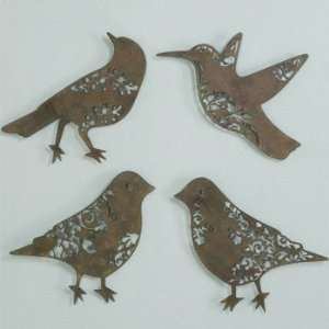 Metal Laser Cut Birds