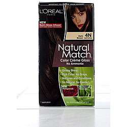 Natural Match #4N Dark Brown Hair Color (Pack of 4)
