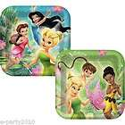 TINKER BELL Disney FAIRIES PRINCESS Party ~ BIG PLATES