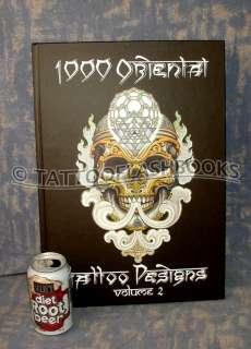 1000 ORIENTAL TATTOO DESIGNS Flash Machine Jondix book