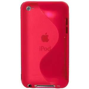 Amzer Hybrid Case for iPod Touch 4G (Hot Pink)