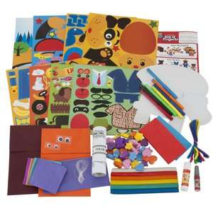 Junior Ultimate Box of Projects, Children Craft Kit, Made By Me Crafts