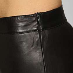 Miss Sixty Womens Black Leather Pants