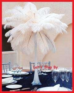 Natural White Wedding Decoration Eiffel Tower Vase Centerpieces