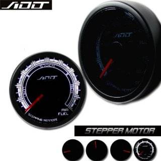 APC Blackout Black Out 2 1/16 Air Fuel Ratio Gauge Smoked