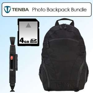 Tenba 632 513 Shootout Ultralight Camera Backpack Black