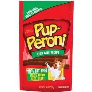 Pup Peroni Lean Beef Flavor Dog reas Pe Supplies