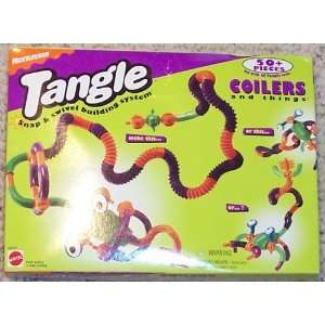 Nickelodeon Tangle Snap & Swivel Building System   Coilers