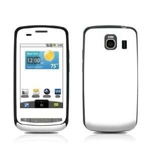 Solid State White Design Protector Skin Decal Sticker for