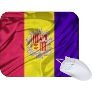 Rikki Knight Andorra Flag Mouse Pad Mousepad   Ideal Gift