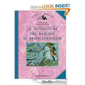 Le avventure del Barone di Munchhausen (Italian Edition) Rudolf Erich