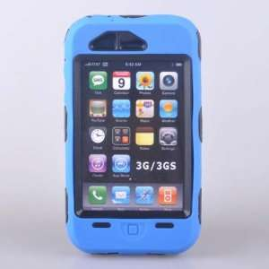 *Blue* Heavy Duty Tough Cover Case Blue For iphone 3G 3GS