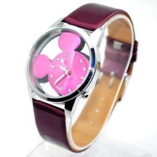 Fashion New Bolun Ladies Wrist Watch Mickey Mouse Style Xmas gift