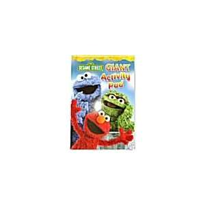 Sesame Street Coloring Pages on Sesame Street Giant Activity Pad   224 Coloring Pages