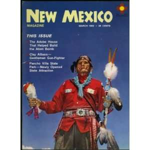 New Mexico Magazine March 1962 (Clay Allison feature) (Vol