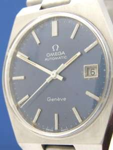 Mans Vintage Omega Automatic Geneve Stainless Watch (55038)