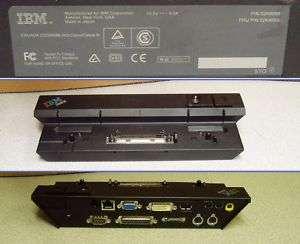 IBM 02K8668 02K8669 ThinkPad LapTop Docking Station
