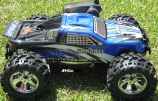 EARTHQUAKE 3.5 1/8 SCALE R/C NITRO MONSTER TRUCK SHARP!