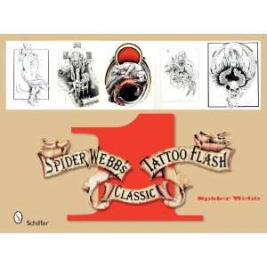 Spider Webbs Classic Tattoo Flash Book 1 (Bk.1