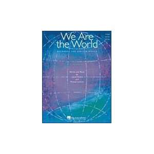 We Are the World (Lionel Richie & Michael Jackson)