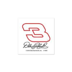EARNHARDT SR. OFFICIAL LOGO TEMPORARY TATTOO 4 PACK: Sports & Outdoors
