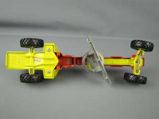 Vintage Dinky Toys Road Grader Die Cast Tractor 963