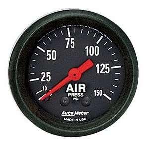Meter 2620 Z Series 2 1/16 0 150 PSI Mechanical Air Pressure Gauge