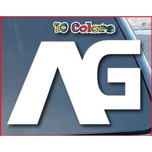 ANALOG AG Burton Car Window Vinyl Decal Sticker 10 Wide (Color White