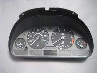 BMW E39 Instrument Cluster Speedometer 96 03 528i 525i 528iT 525iT