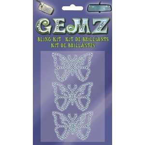 Gemz   Butterflies (3 pc.) Bling Kit: Automotive