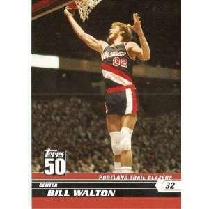 Anniversary Limited Edition # 5 Bill Walton / Portland Trail Blazers
