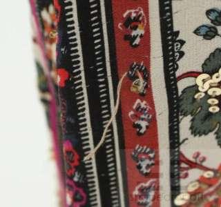 Furstenberg Multicolor Floral Print Silk Sequin Embellished Dress Sz 2