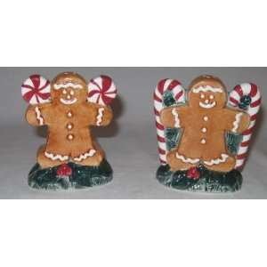 Gingerbread Man Salt & Pepper Shakers: Everything Else